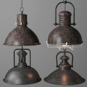 Industrial Lighting Set 2