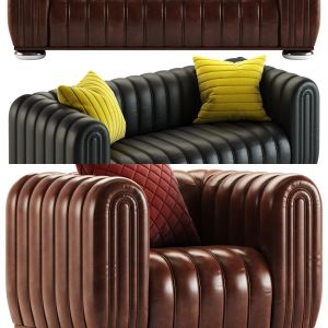 Wittman Club 1910 Sofa and Armchair Collection