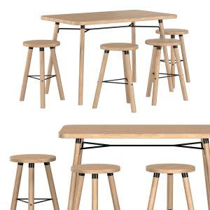 Partridge Rectangle Bar Table