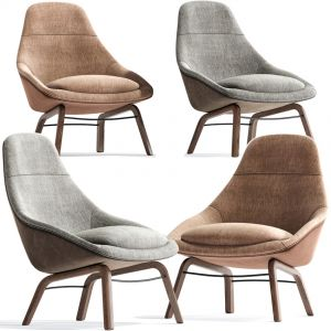 Field Modern Lounge Chair And Armchair