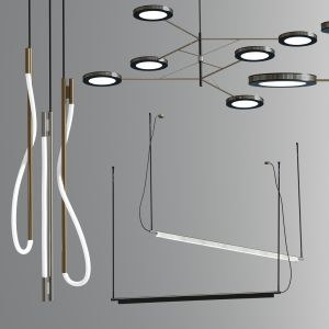 Luke Ceiling Pendant Suspension Collection
