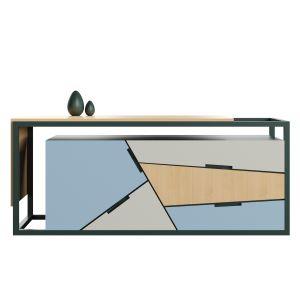 Tangram Side Cabinet