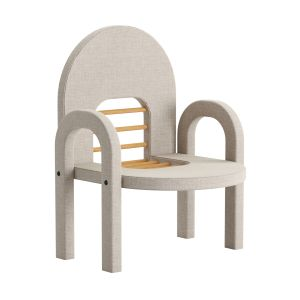 Saddle Style Children`s Chair