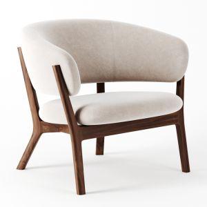Roundish Arm Chair By Maruni
