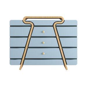 π-shaped Side Cabinet