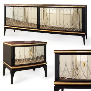 Nightstand, Sideboard Milano By Medusa Home
