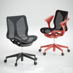 Cosm Chairs Low Back by Herman Miller