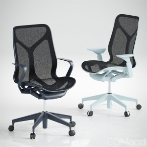 Cosm Chairs Mid Back by Herman Miller