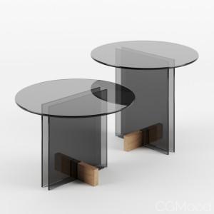 Vidro tables by Guilherme Wentz