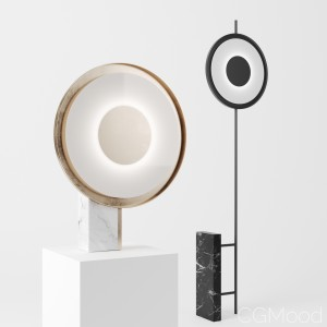 FEATURING lamps by roche bobois