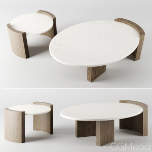 JIA COFFEE TABLES by Atelier de troupe