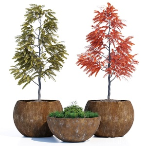 Globe Tree Planters by Streetlife