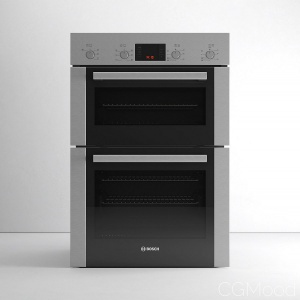 Serie 6 HBM43B250B Double Oven By Bosch