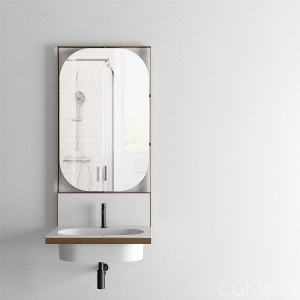 Elle Ovale 70 cm Washbasin by Cielo