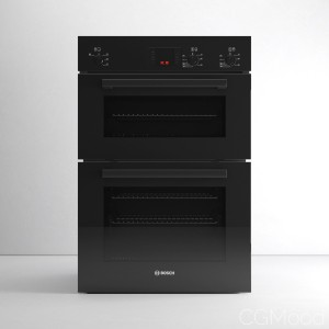 Serie 6 HBM13B261B Double Oven By Bosch