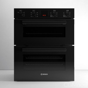 Serie 4 HBN43B260B Double Oven by Bosch