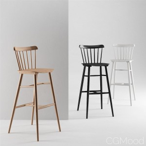 Ironica Barstool by Ton