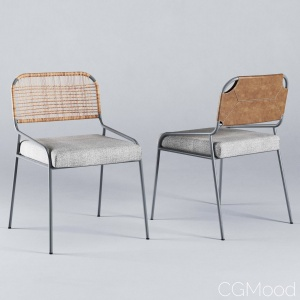TAI chair by Meridiani