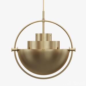 GUBI Multi-Lite pendant lamp by LOUIS WEISDORF