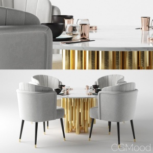 Anita Dining Chair by Ottiu