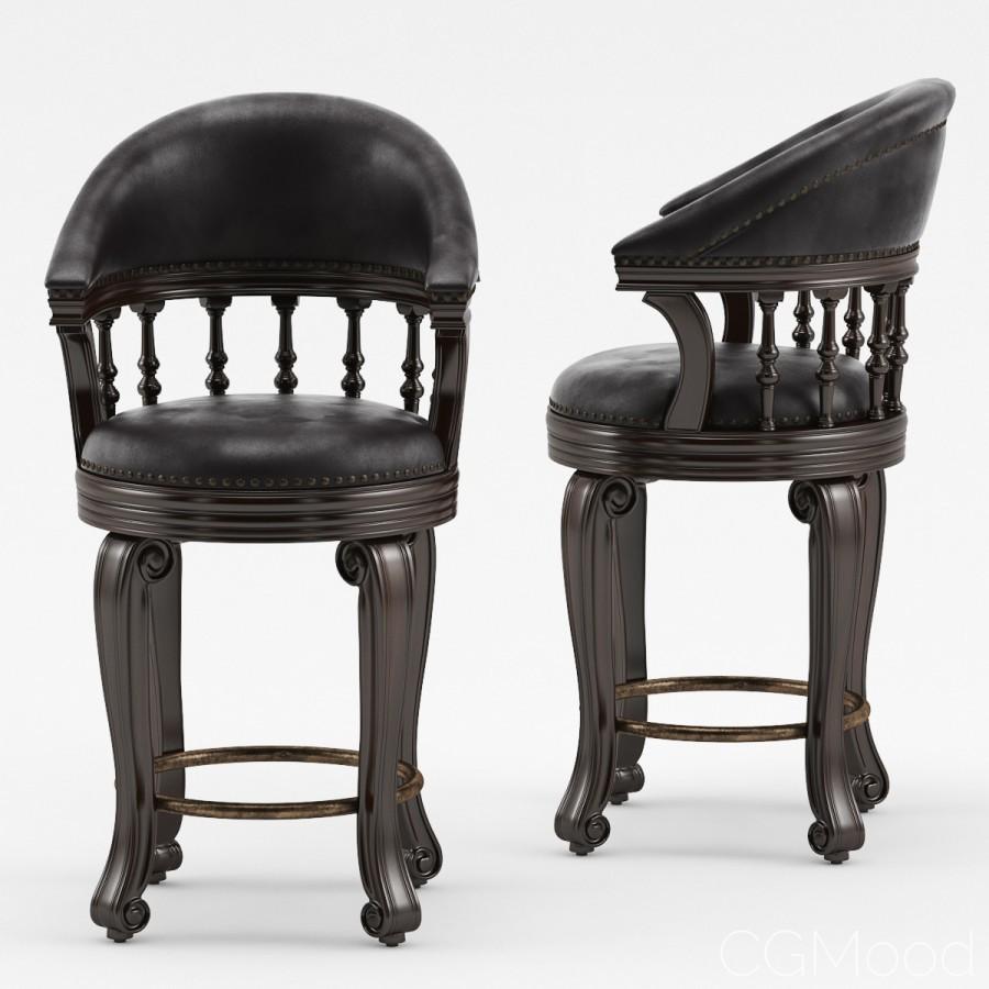 Magnificent Alexander Swivel Leather Barstool 3D Model For Corona Short Links Chair Design For Home Short Linksinfo