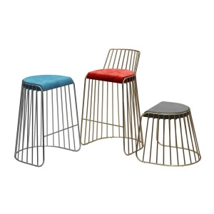 Bride's Veil Bar & Counter Stool by Phase Design