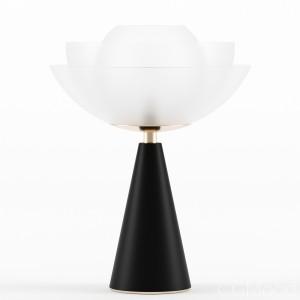 Lotus table lamp by Mason Editions