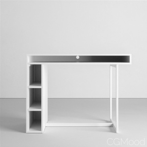 Public White Counter Dining Table