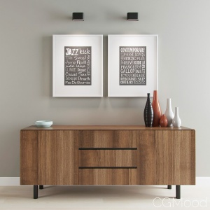 Sideboard console table cabinet