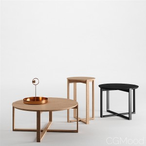 Delta Coffee Tables by Ton