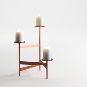 Party Candle Holder by Cappellini