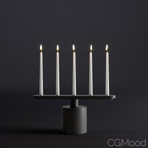 Rod candle holder by Cappellini