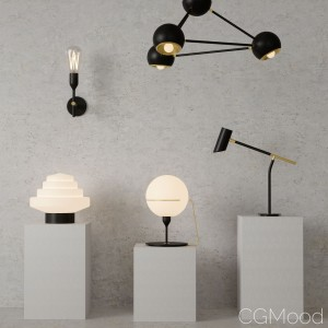 Moderm Vintage Lamp Collection