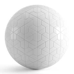 Hexagon White Tiles