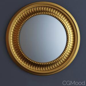 18th Century Design Round Convex Mirror