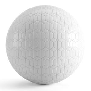 Hexagon White Tiles