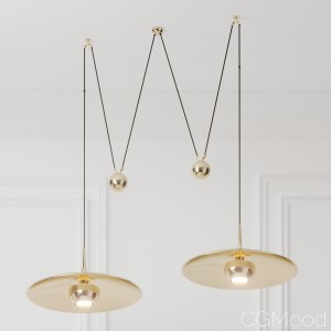 Florian Schulz Double Onos 55 Pendant Lamp With Si