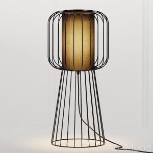 Nordic Style Metal Table Lamp