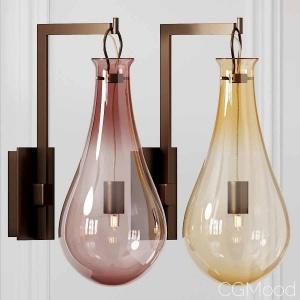 Veronese Drop Murano Glass Wall Light