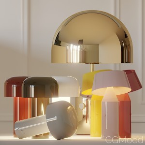 Bellhop, Bicoca And Bell Table Lamps In Several Co