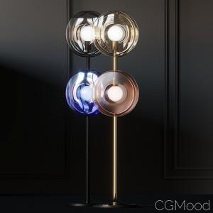 Bomma Orbital Crystal Floor Lamps