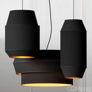 Delta Iv-ii-iii Pendant Lights By Rich Brilliant W