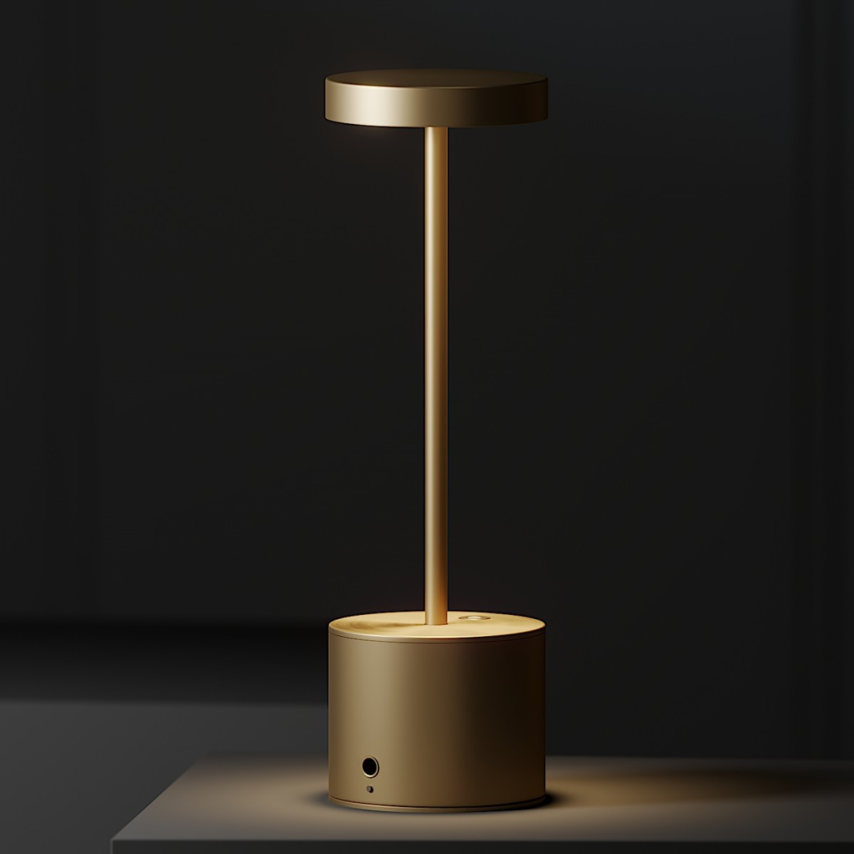 Hisle Luxciole Gm Table Lamp 4 Different Metal M 3D