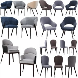 10 models Chair Collection