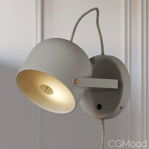 Svejk 13  Wall Sconce 2 Colors By Bankeryd