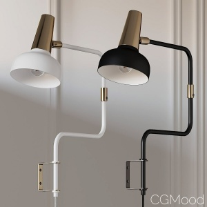 Ray Wall Sconce By Bankeryd