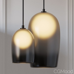 Crux 20 And 12 Inch Pendant Lamps