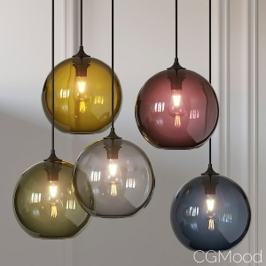 Solitaire Pendant Lamp By Jeremy Pyles For Niche