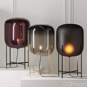 Oda Medium Floor Lamp By Pulpo