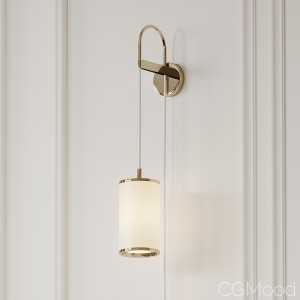 Lily Gold Wall Sconce